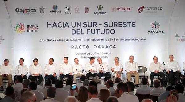 """""""Pacto Oaxaca, gran herramienta"""""""