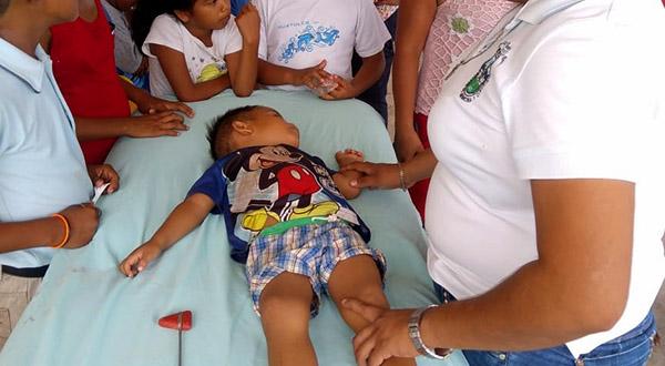 Playa Brasil un pueblo en abandono