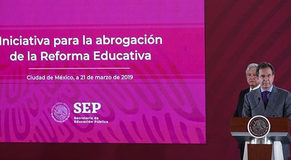 Hacia la reforma educativa de la cuarta transformación