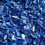 prirodni dekorativni malc - plavi
