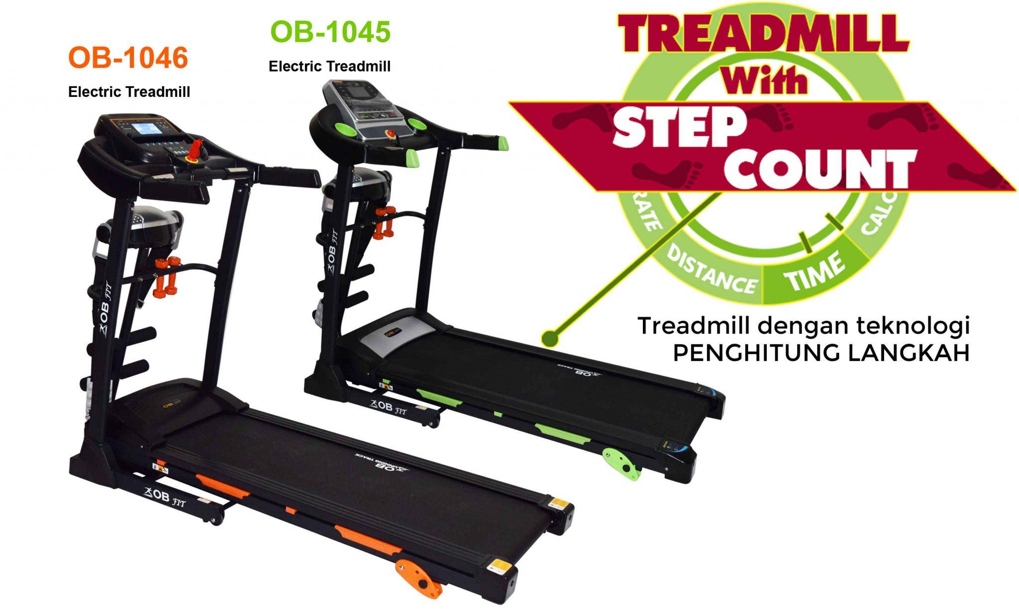 Berolahraga dgn Treadmill OB FIT