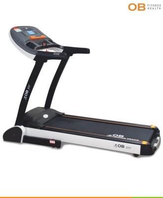 Alat Treadmill Elektrik Teknologi Auto Incline OB-1027 For Commercial Use