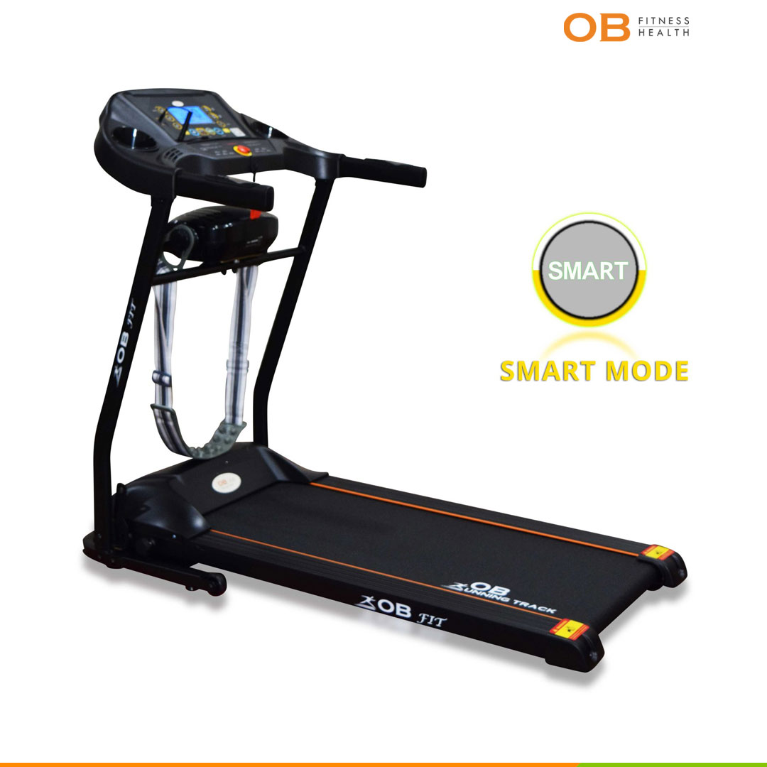 OB-1057 Electric Treadmill Cardio with Belt Massager