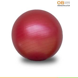 GYM BALL 75 – Merah/Biru/Pink/Abu-abu