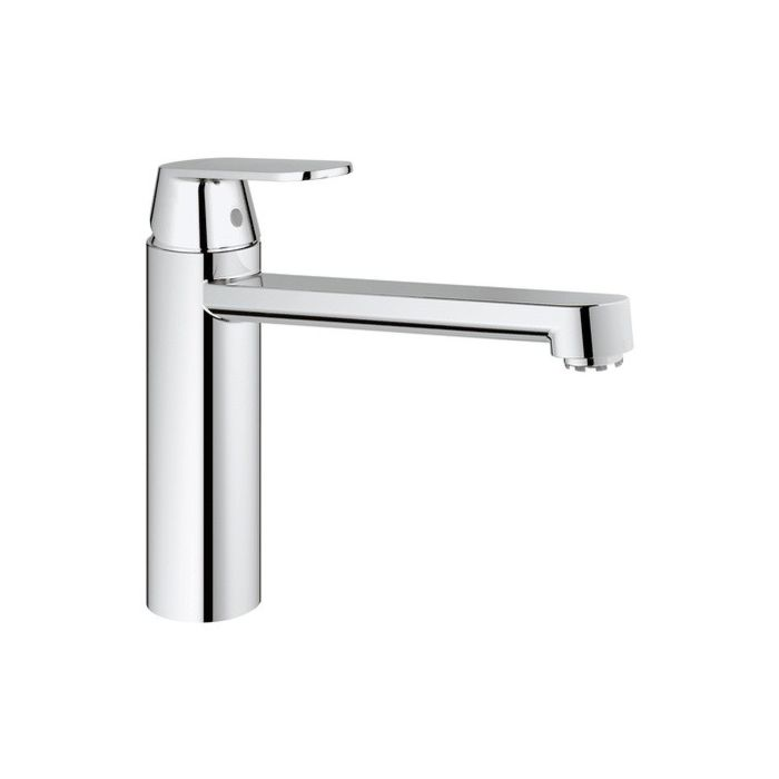 grohe eurosmart kitchen faucet 30194000 chrome cosmopolitan low pressure medium high spout