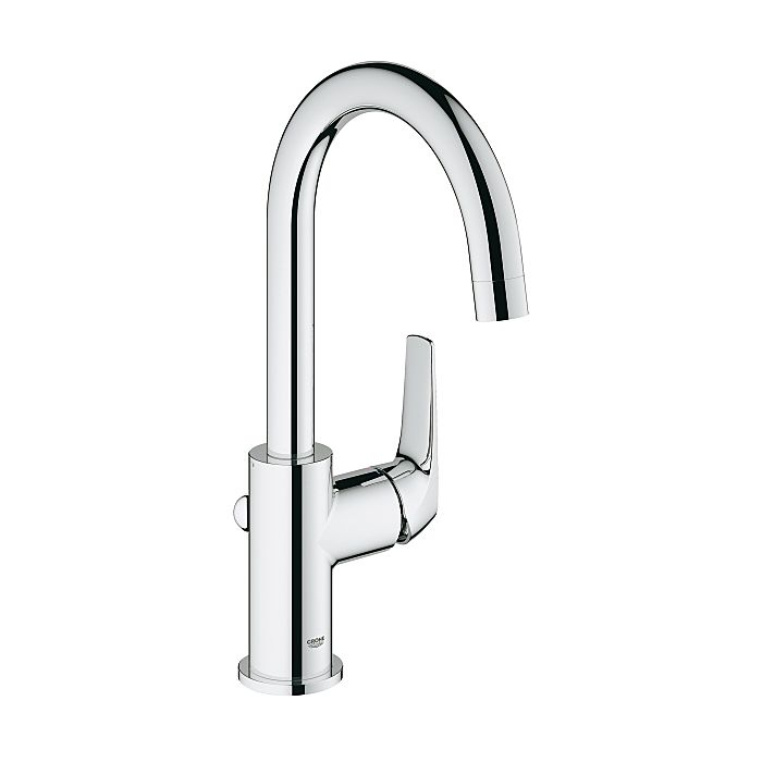 grohe bauflow faucet l size 23753000 chrome with pop up waste