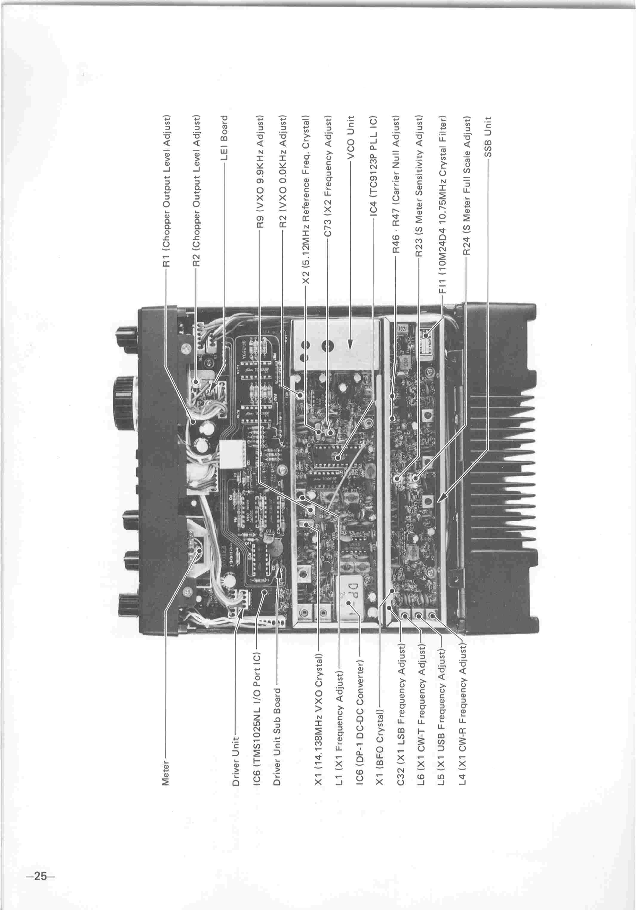 IC-260 Owner's Manual