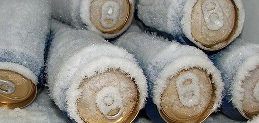 imagem da cerveja gelada