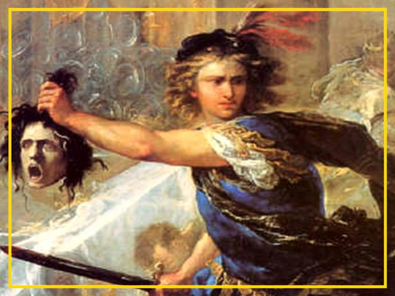 Na mitologia o ego é, entre outros simbolismos, representado pela Medusa, causadora de todo tipo de sofrimento aos homens e que é decapitada pela espada de Perseu.