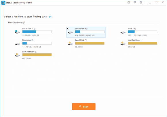 EaseUS data recovery wizard tuts