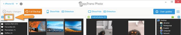 CopyTrans app