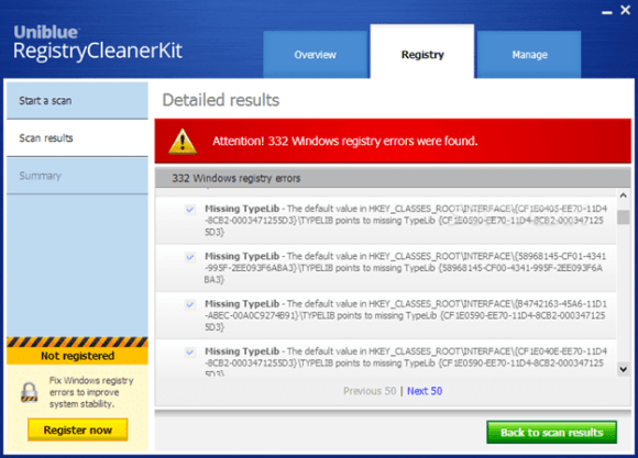 RegistryCleanerKit windows optimizer