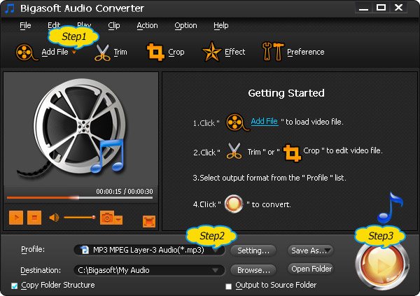 BigSoft Audio Converter