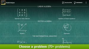 MathHelper Algebra Calculus