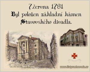 7. červen 1781