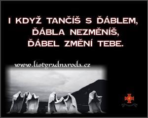 tanec s ďáblem