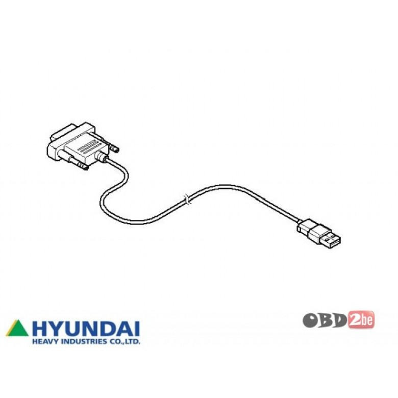 Hyundai Robex Diagnostic Tool (HRDT), HYUNDAI Diagnostic