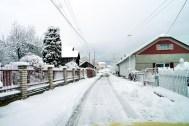 Obec Vitaz pod snehom 2015 P1310538
