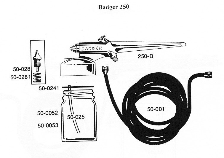 BADGER Spare Parts
