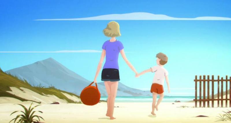 Image result for Простичка анимация за отношенията майка-син, която ще ви разплаче