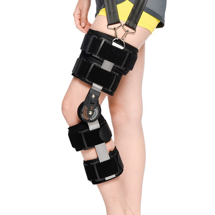 ROM Knee Brace – Hinged Immobilizer for ACL, MCL and PCL Injury Hinged Knee Braces Ober Health
