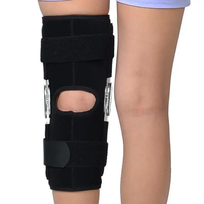 Adjustable Double Metal and Hinged Knee Orthosis Breathable ROM Brace - Ober knee brace Ober Braces