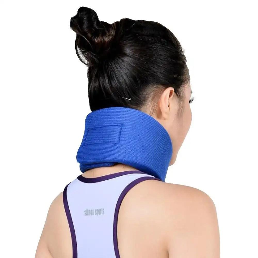Adjustable Neck Brace Neck Pain Relief Support Sponge OBER Cervical Collar Wrap Stiff Neck Health care Posture Corrector neck brace Ober Braces