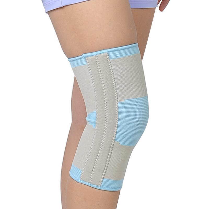 Knit knee protector summer breathable sports fitness protection knee sprained knee fixed elastic knee protector knee brace Ober Braces