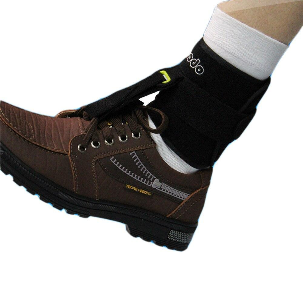 Ober Adjustable Drop Foot Support AFO Brace Strap Elevator Poliomyelitis Hemiplegia Stroke Universal Size foot brace Ober Braces