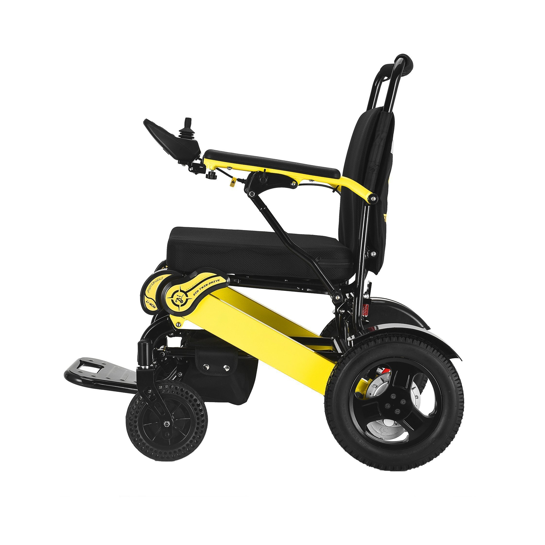 Foldable Sturdy Dual Motorized Powerful Electric Wheelchair Mobility Aids Ober Health 8