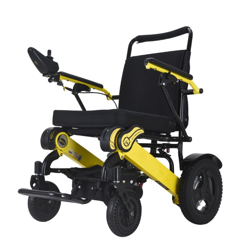 Foldable Sturdy Dual Motorized Powerful Electric Wheelchair Mobility Aids Ober Health