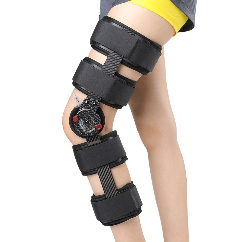 Carbon Fiber Knee Brace Support For ACL PCL MCL Hinged Knee Braces Ober Health