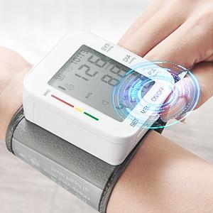 Blood Pressure Monitor LCD Display Adjustable Wrist Cuff Blood Pressure Monitors Ober Health 21