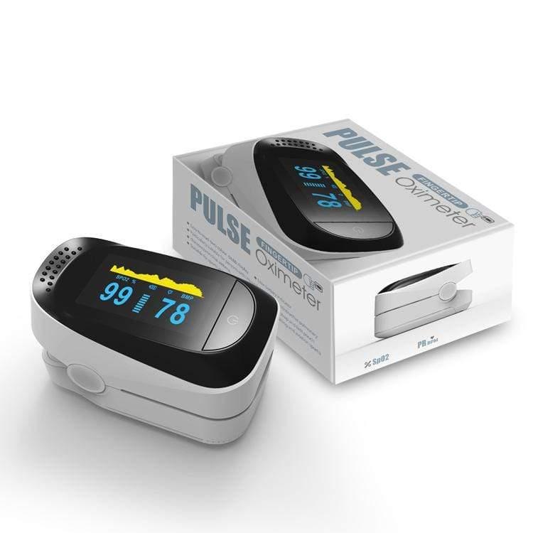 Fingertip Pulse Oximeter & Blood Oxygen Saturation Monitor Pulse Oximeters Ober Health