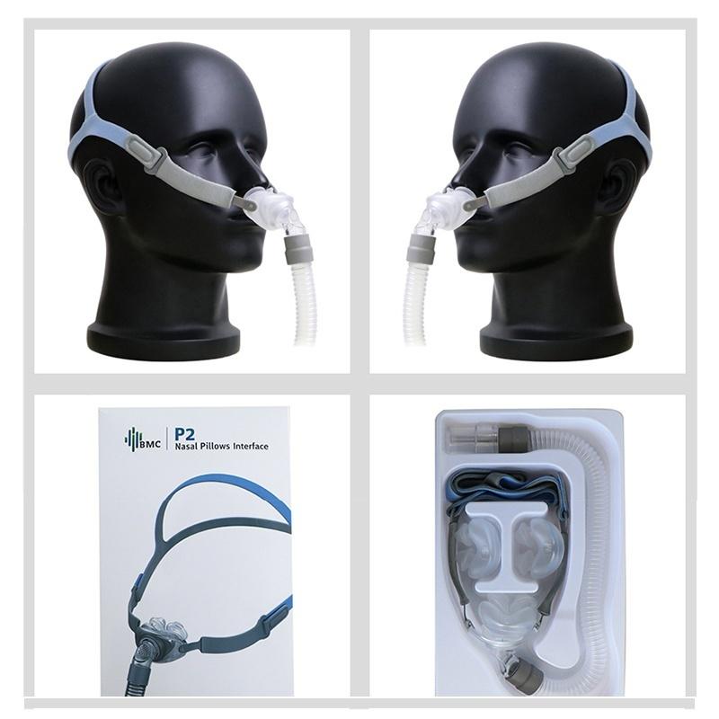 BMC P2 Nasal Pillow Mask with Headgear CPAP Masks Ober Health 6