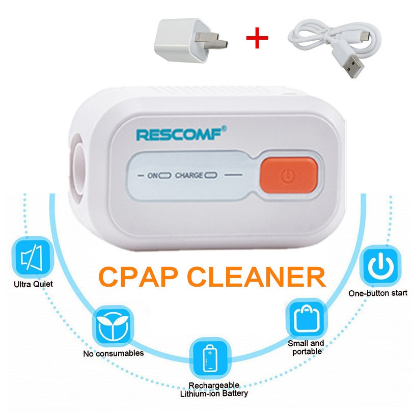 RESCOMF CPAP Cleaner Ozone Sterilizer XD100 CPAP Cleaning Ober Health