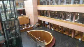In der Bibliothek II