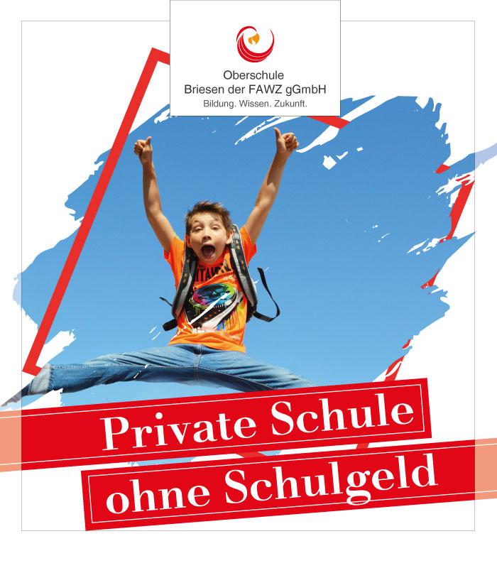 Oberschule Briesen_Private Schule ohne Schulgeld