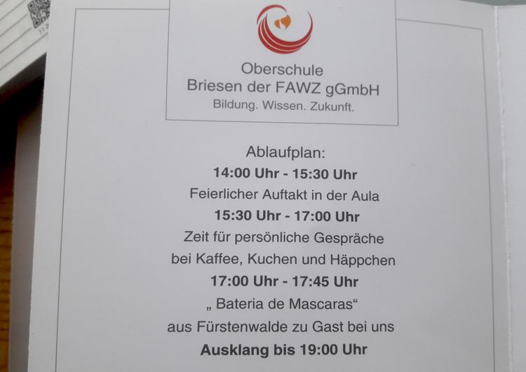 Oberschule Briesen_Countdown zum 10 Schulgeburtstag_Oktober 2019_3