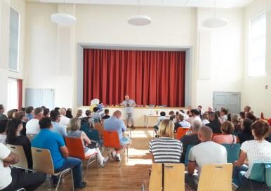 Oberschule Briesen_Schulanfangsfeier für unsere neue 7. Klasse_1