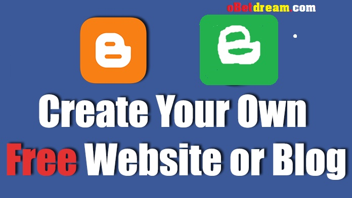 how to create free blog blogspot