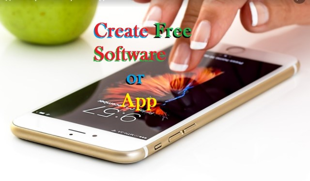 create app free android app software application