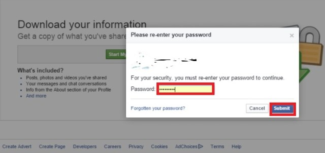 how can i recover facebook delete message