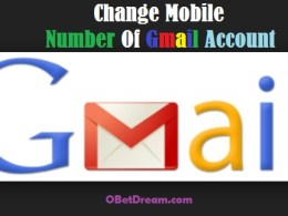 how to change or remove or edit mobile number gmail account