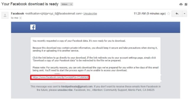 how to do recover deleted facebook message