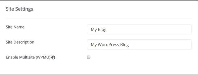 install wordpress blog