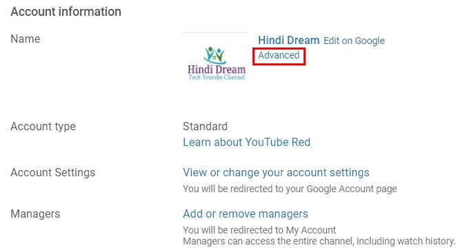 delete youtube channel hindi