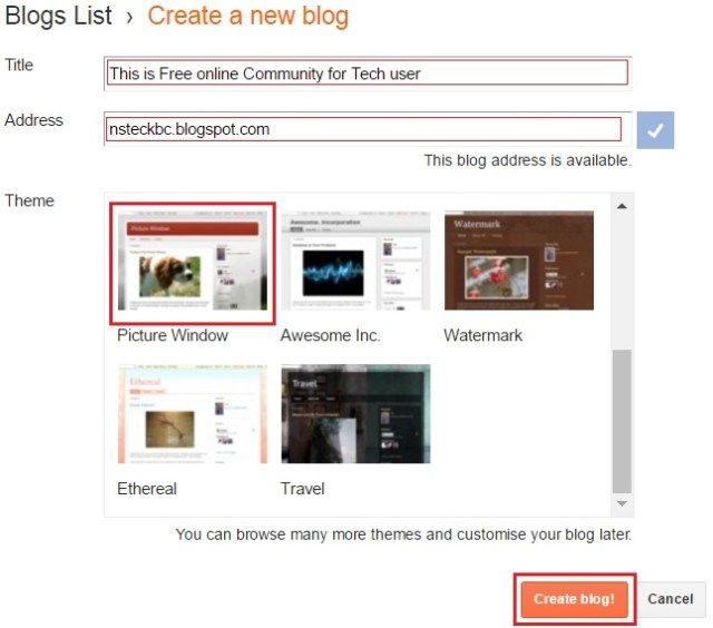 how to host website free blogging create free website