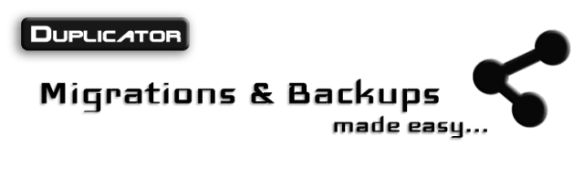 duplicator free wordpress backup plugins