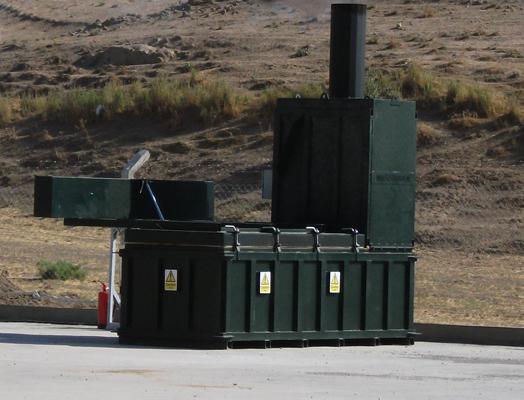 MASTERBURN MB1200 incinerator